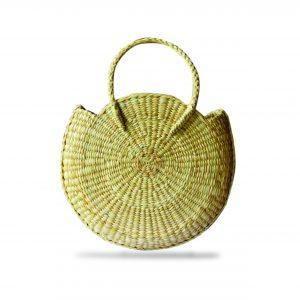 Semi Circular Hand Bag